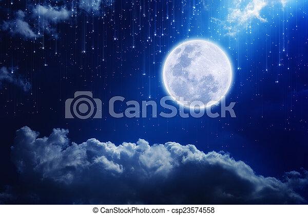 Full moon - csp23574558