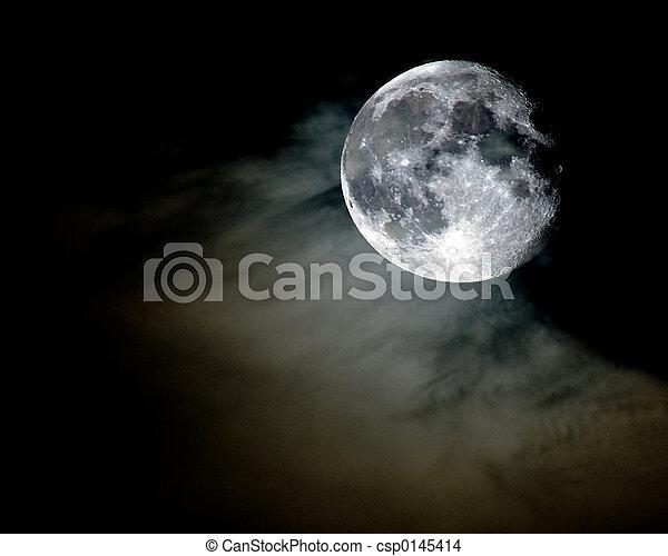 full moon - csp0145414