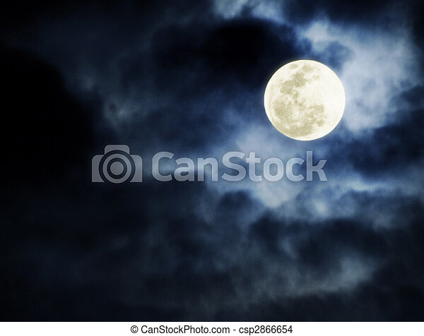 full moon - csp2866654