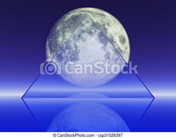 full moon - csp31526397