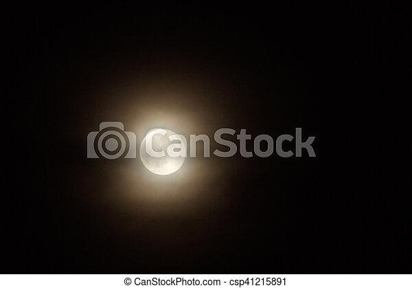 Full moon - csp41215891
