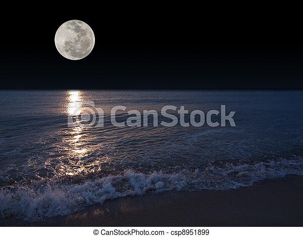 Full moon - csp8951899