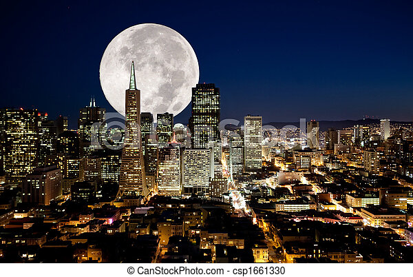 Full Moon - csp1661330