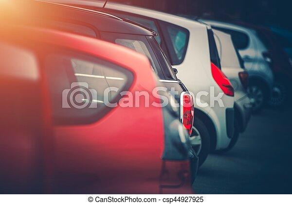 Full of Cars Car Parking - csp44927925