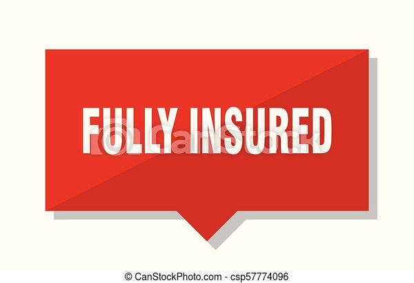 fully insured red tag - csp57774096