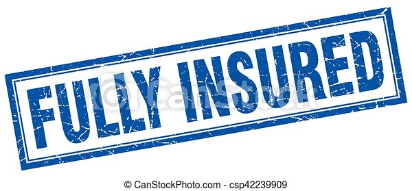 fully insured square stamp - csp42239909