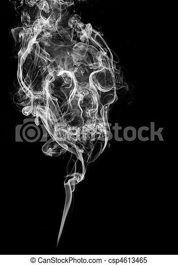 fumo, cranio - csp4613465