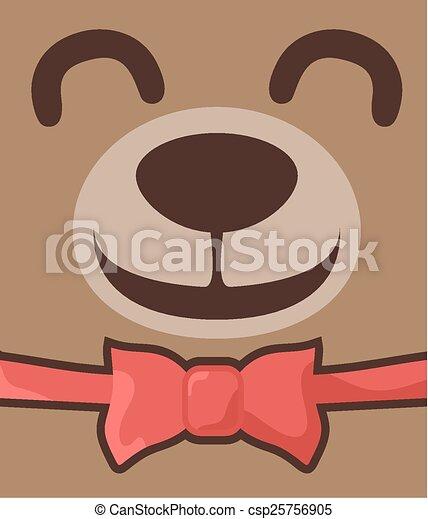Fun bear - csp25756905