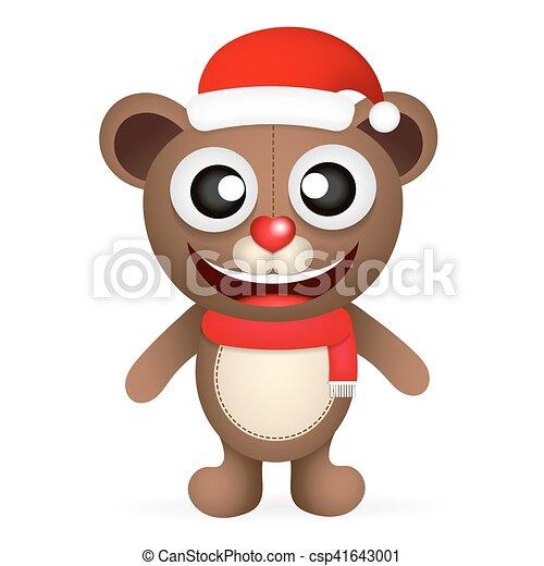 Fun brown bear - csp41643001
