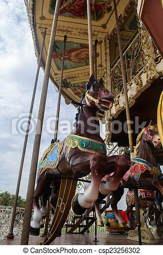fun carousel - csp23256302