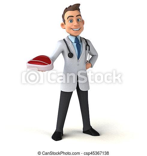 Fun doctor - csp45367138