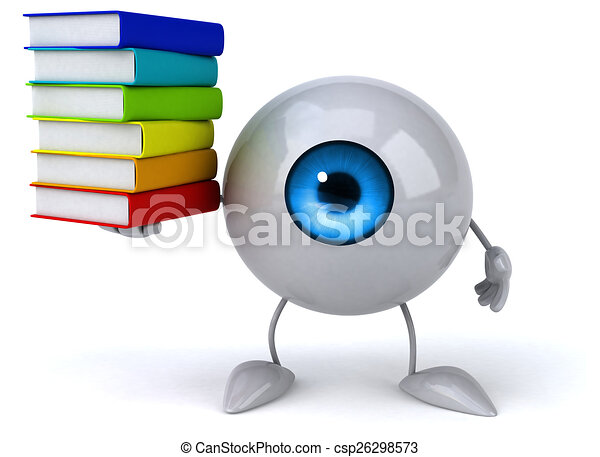 Fun eye - csp26298573