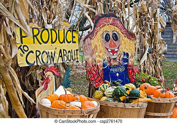 Fun Farm Signs - csp2761470