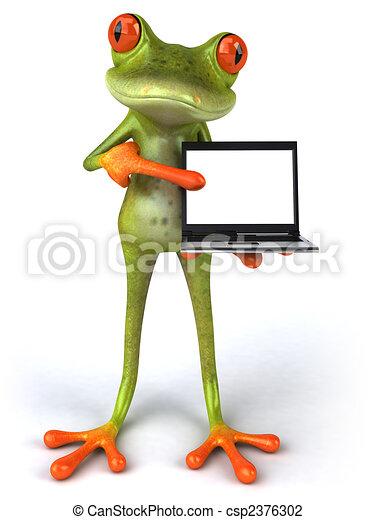 Fun frog - csp2376302