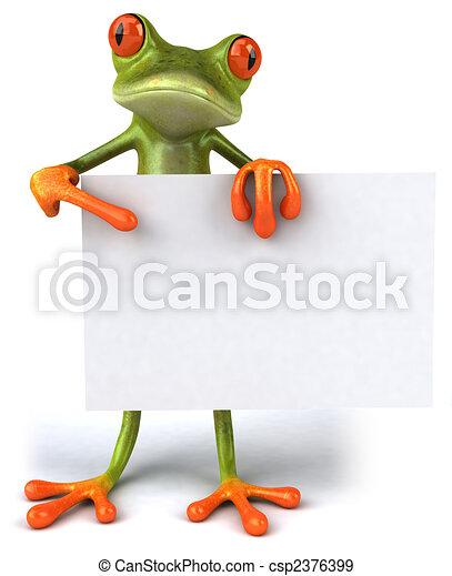 Fun frog - csp2376399
