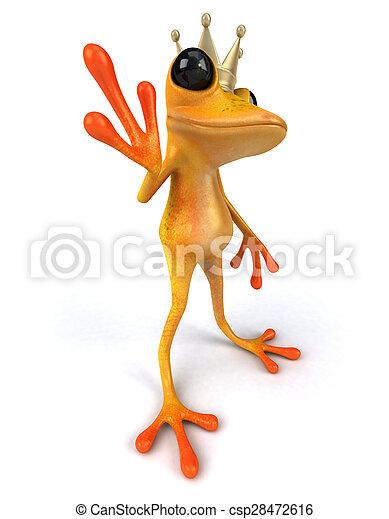 Fun frog - csp28472616