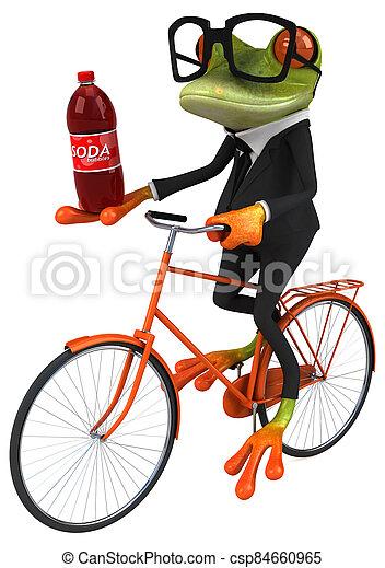 Fun frog - csp84660965