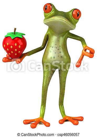 Fun frog - csp46056057