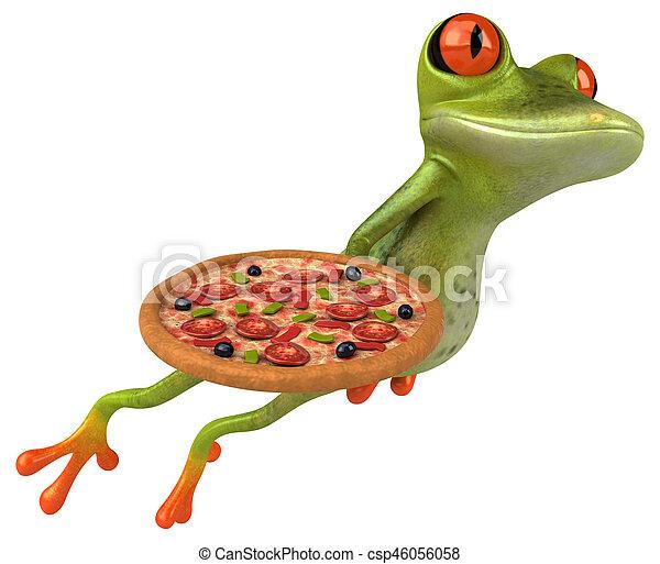 Fun frog - csp46056058