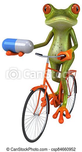 Fun frog - csp84660952