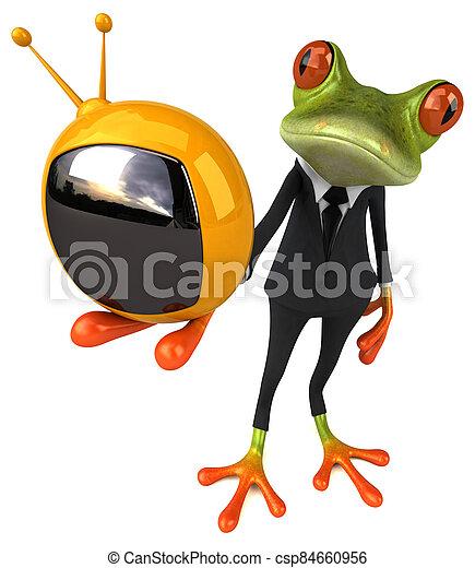 Fun frog - csp84660956