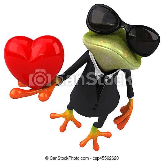 Fun frog - csp45562620