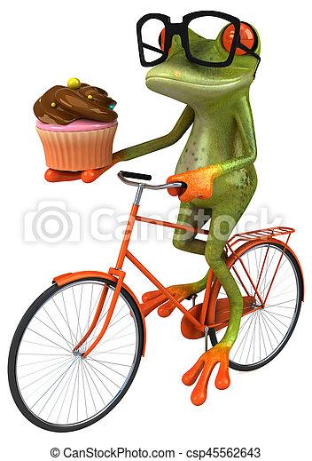 Fun frog - csp45562643