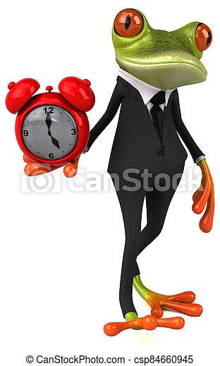 Fun frog - csp84660945