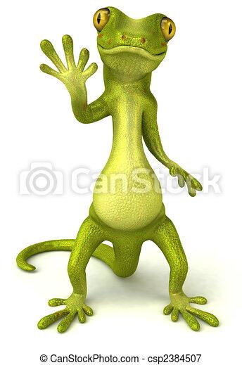 Fun gecko - csp2384507
