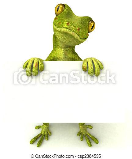Fun gecko - csp2384535