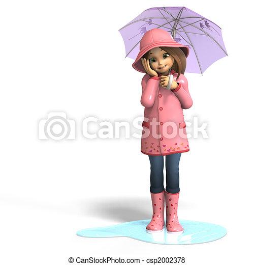 fun in rain - csp2002378