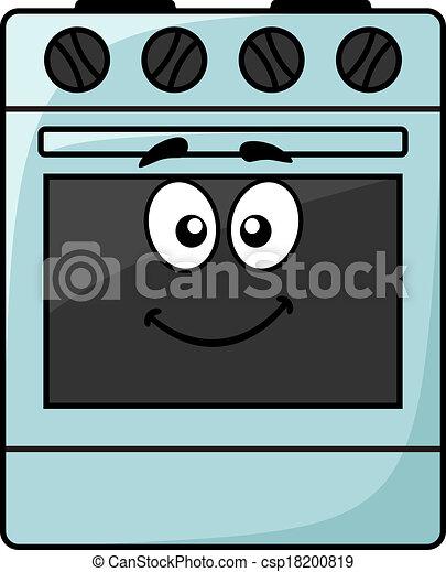 fun kitchen appliance a happy oven cartoon kitchen appliance a