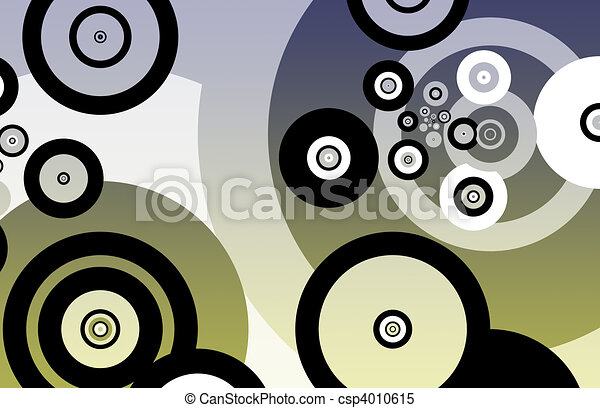 Fun Partying Nightlife Abstract Background - csp4010615