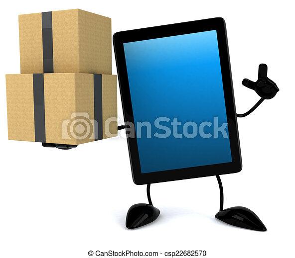 Fun tablet - csp22682570