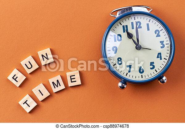 Fun time concept. - csp88974678