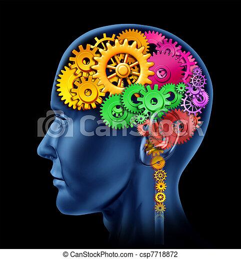 functie, hersenen - csp7718872