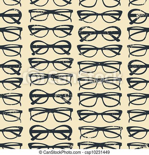 fundo, óculos - csp10231449