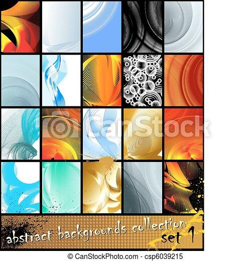 fundo, abstratos, vetorial - csp6039215