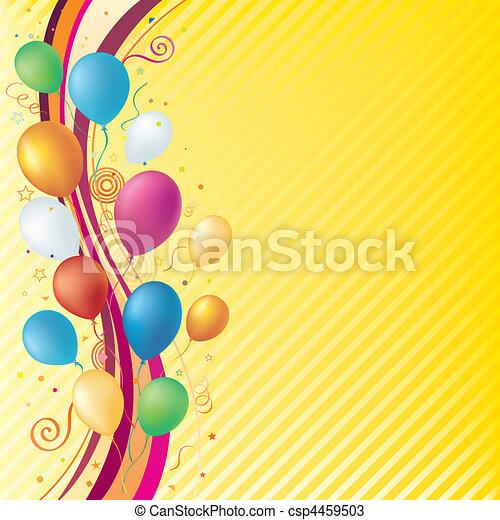 fundo, celebração - csp4459503