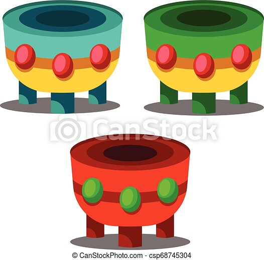 fundo, chinês, ilustração, vetorial, tambores, ano, novo, branca, coloridos, celebração - csp68745304