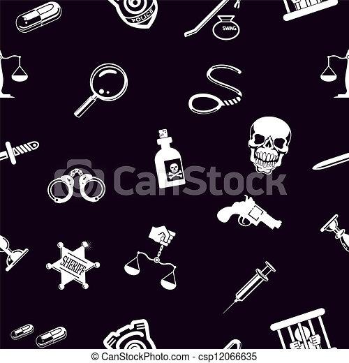 fundo, ferramentas, seamless, textura - csp12066635