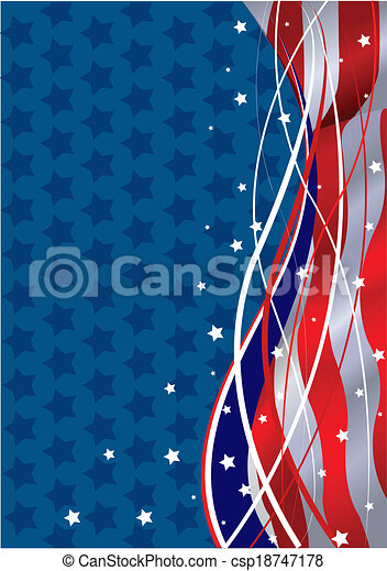 fundo, patriótico - csp18747178