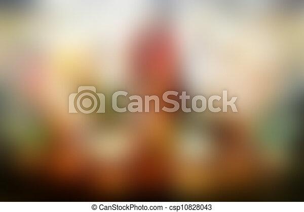 fundos, blurry - csp10828043