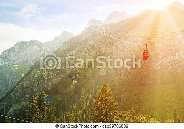 Funicular - csp39706839