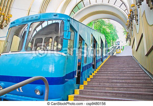 Estación de funicular - csp9480156