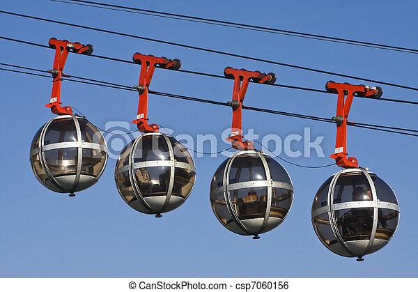 Grenoble funicular ferroviario - csp7060156