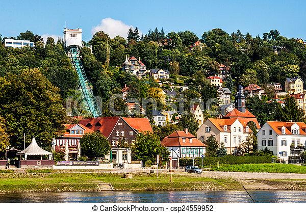Funicular en Loschwitz - csp24559952
