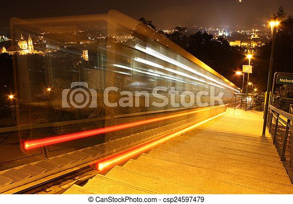 Funicular - csp24597479