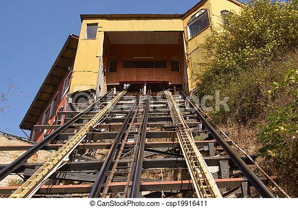 Valparaiso funicular - csp19916411