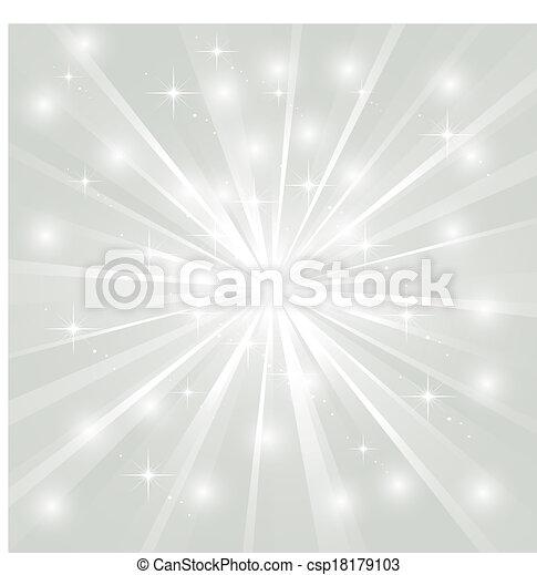Heller Sonnenstrahl mit Funkeln - csp18179103